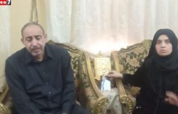 #اليوم السابع - #حوادث - فاكرنهم مش ناسينهم.. والدة الشهيد المجند محمود نصر: قال لى هرجع شهيد (فيديو)