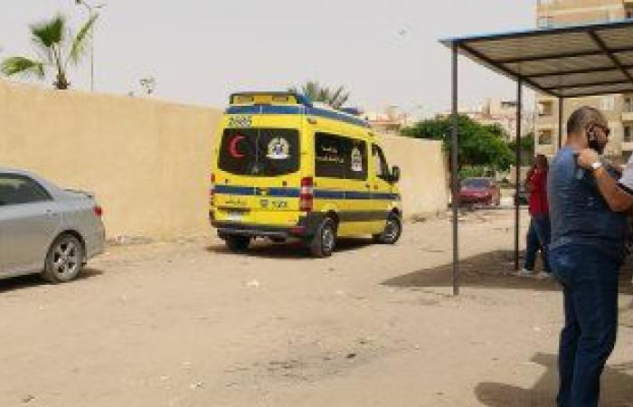 #اليوم السابع - #حوادث - إصابة شخصين إثر انقلاب سيارة نقل وإشتعال النيران بها بالشرقية