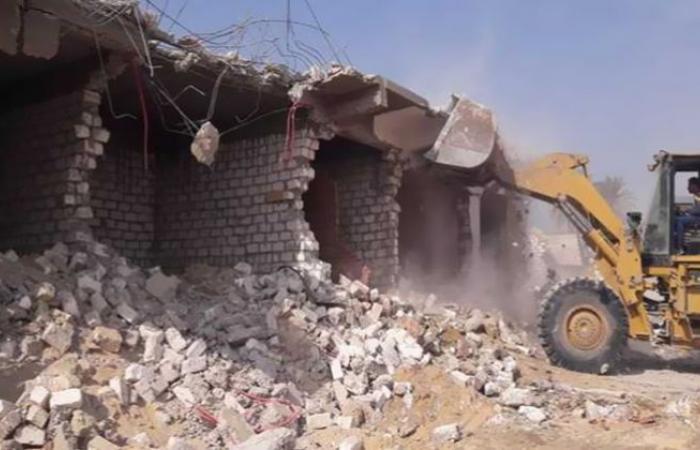 الوفد -الحوادث - إزالة التعديات على الأرض الزراعية في كفر الشيخ موجز نيوز