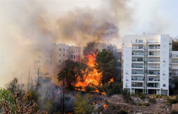 #المصري اليوم -#اخبار العالم - اندلاع حريق كبير في مصفاة نفط في شمال إسرائيل موجز نيوز