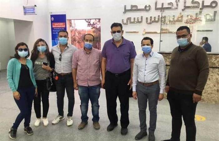 المصري اليوم - اخبار مصر- توافد أهالى الأقصر للحصول على لقاح فيروس كورونا موجز نيوز