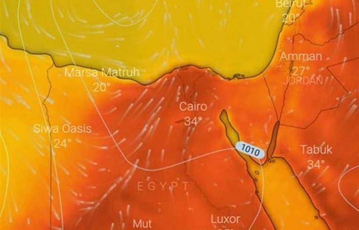 المصري اليوم - اخبار مصر- ارتفاع وانخفاض وتقلبات في درجات الحرارة .. حالة الطقس من السبت إلى الخميس 6 مايو موجز نيوز