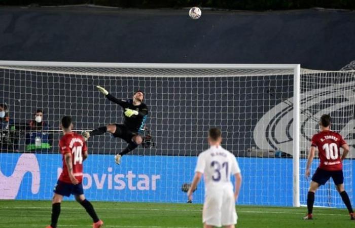 رياضة عالمية السبت الليجا.. ريال مدريد 0 - 0 أوساسونا.. هدف أبيض
