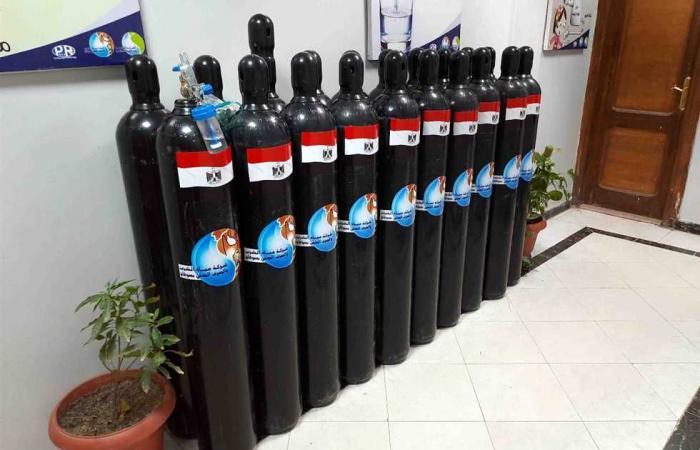 المصري اليوم - اخبار مصر- مياه سوهاج: توفير أسطوانات أكسجين وكمامات وكحول لتأمين العمال من خطر كورونا موجز نيوز