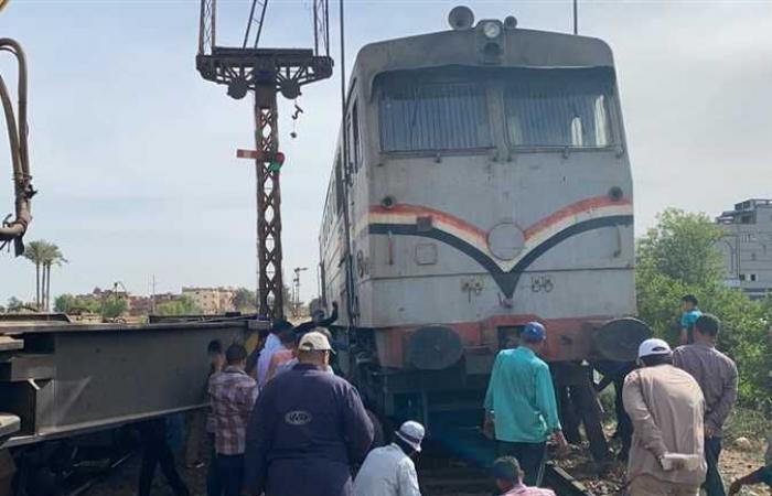 المصري اليوم - اخبار مصر- استمرار أعمال سحب جرار قطار دمياط بعد فصله عن باقي العربات وإنزال الركاب موجز نيوز