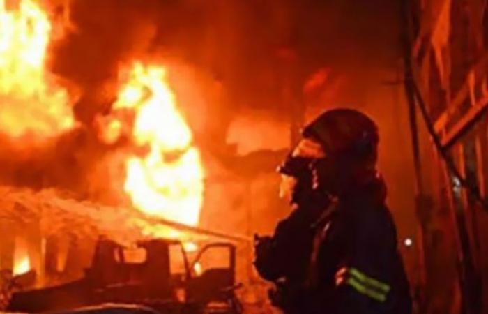 الوفد -الحوادث - مصرع سيدة في حريق منزل بحلوان موجز نيوز