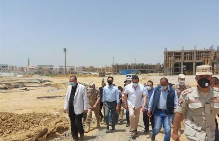 المصري اليوم - اخبار مصر- وزير التعليم العالي يتفقد الأعمال الإنشائية بجامعة بنها الأهلية في مدينة العبور (صور) موجز نيوز