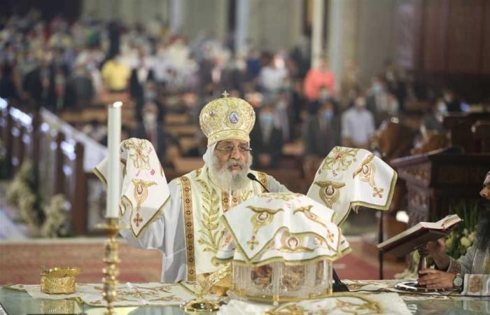 المصري اليوم - اخبار مصر- البابا تواضروس يتحدث عن سد النهضة والرئيس وضحايا كورونا بقداس عيد القيامة (صور) موجز نيوز