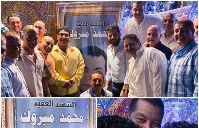 اخبار السياسه شاهد صور مشاركة إياد نصار في حفل إفطار دفعة الشهيد محمد مبروك