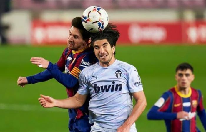 الوفد رياضة - برشلونة يقلب الطاولة على فالنسيا ويحرز الهدف الثاني موجز نيوز