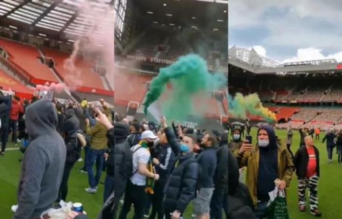 """رياضة عالمية الأحد """"اقتحموا أولد ترافورد"""".. جماهير يونايتد تحتج ضد ملاك النادي (فيديو)"""