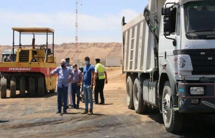 اخبار السياسه محافظ جنوب سيناء يتابع تطوير الطريق الدائري الجديد بشرم الشيخ