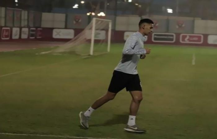 الوفد رياضة - بدر بانون يواصل التاهيل على هامش مران الأهلي موجز نيوز