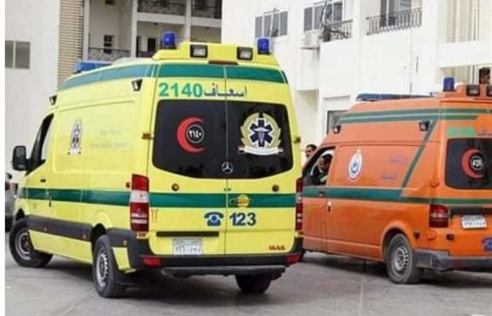 #المصري اليوم -#حوادث - إصابة 5 أشخاص في تصادم سيارتين بالشرقية موجز نيوز