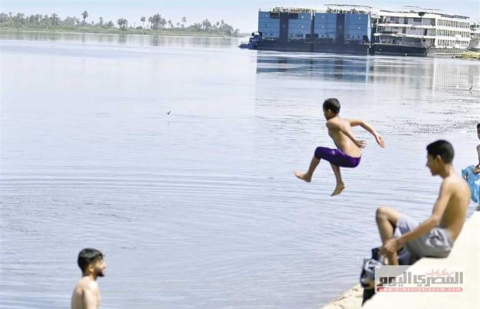 المصري اليوم - اخبار مصر- الهروب من «لهيب الصيف» إلى الشواطئ ونهر النيل موجز نيوز