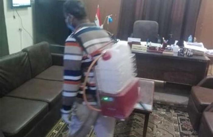المصري اليوم - اخبار مصر- استمرار أعمال التطهير والتعقيم في مختلف مناطق الوادي الجديد موجز نيوز