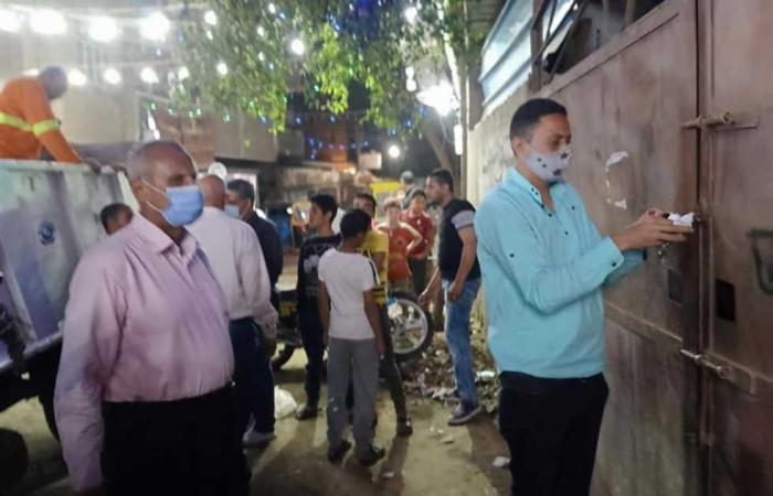 #المصري اليوم -#حوادث - القليوبية : 136 محضر عدم ارتداء كمامة وضبط 565 شيشة وغلق 46 مقهى موجز نيوز