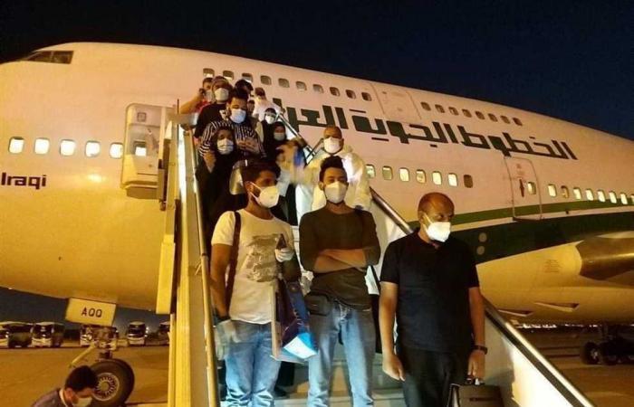 #المصري اليوم -#اخبار العالم - بغداد تستقبل أول رحلة استثنائية لإجلاء مواطنيها العالقين في الهند موجز نيوز