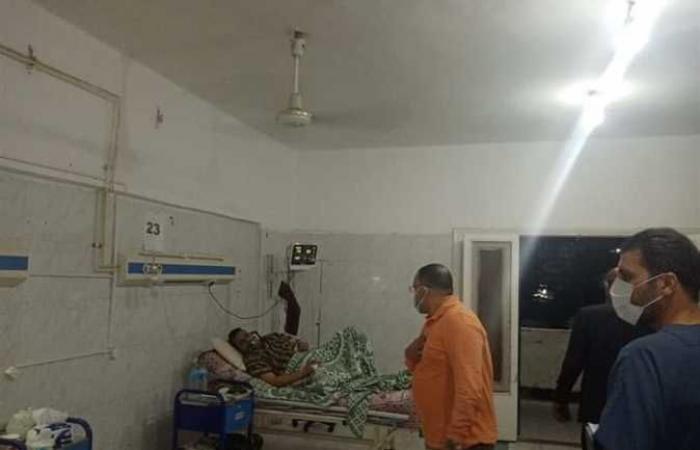 المصري اليوم - اخبار مصر- وكيل «صحة السويس» يتابع المرضى بأقسام العزل الداخلي بالمستشفى العام (صور) موجز نيوز
