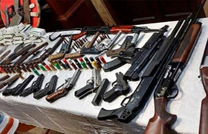 الوفد -الحوادث - ضبط 4 قطع سلاح ناري بحوزة أربعة مُتهمين في الفيوم موجز نيوز