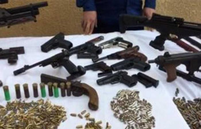 #المصري اليوم -#حوادث - ضبط 5 عاطلين بحوزتهم بانجو وسلاح في أسوان موجز نيوز