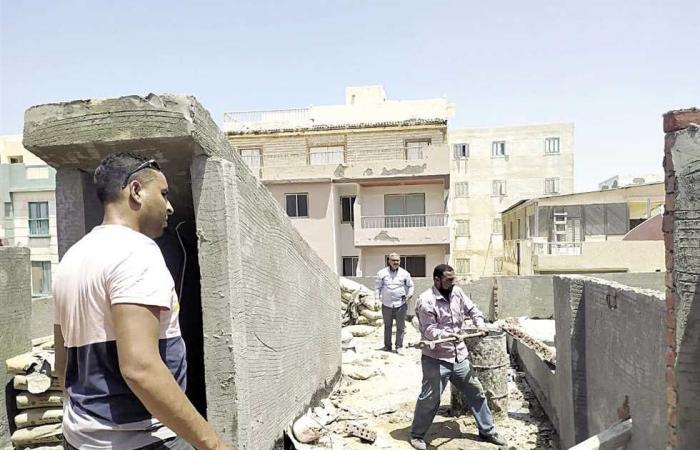 المصري اليوم - اخبار مصر- حملات مفاجئة لوقف فوضى البناء المخالف بالإسكندرية موجز نيوز