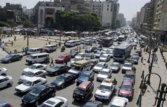 الوفد -الحوادث - كثافات مرورية بالأزهر والجمالية وتباطؤ بحركة السيارات بمحور صلاح سالم موجز نيوز