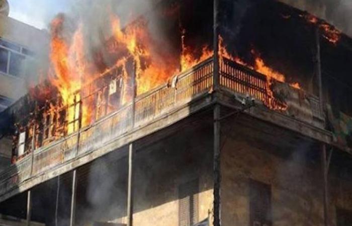الوفد -الحوادث - الحماية المدنية تسيطر على حريق منزل بالمنيا موجز نيوز