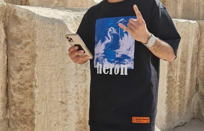 المصري اليوم - اخبار مصر- الاهرامات و المتحف المصري بالتحرير يستضيفان المدون الروسي جوسن جاسانوف موجز نيوز