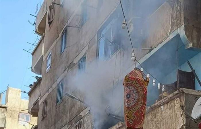 #المصري اليوم -#حوادث - السيطرة على حريق بمنزل بجوار مستشفى حميات سمالوط في المنيا موجز نيوز