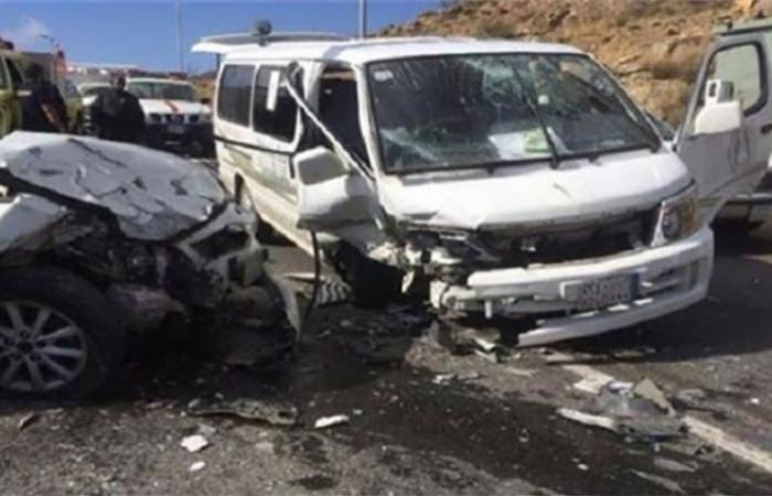 الوفد -الحوادث - مصرع عامل وإصابة 3 آخرين في حادث تصادم بالشرقية موجز نيوز