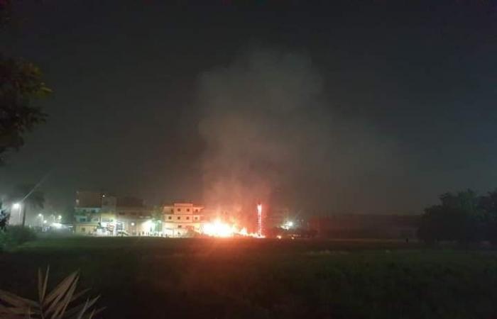 #اليوم السابع - #حوادث - السيطرة على حريق بجوار موقف بنها بشبين القناطر دون خسائر بالأرواح