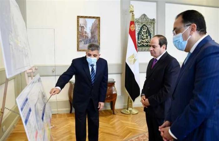 المصري اليوم - اخبار مصر- السيسي يستعرض نتائج التحقيقات في حادث سفينة «إيفرجرين» والتعويضات موجز نيوز