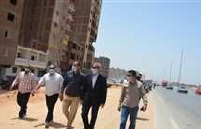 المصري اليوم - اخبار مصر- محافظ القليوبية يتفقد سكن لكل المصرين وإزالة المباني المتعارضة مع توسعة الطريق الدائري (صور) موجز نيوز