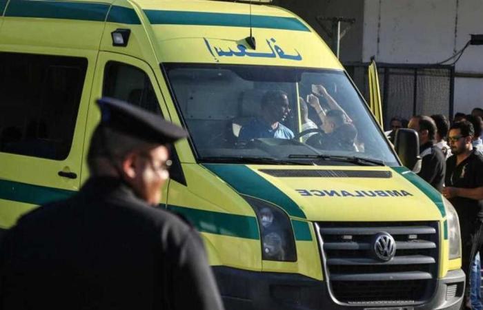 #المصري اليوم -#حوادث - إصابة 4 أشخاص في حادث تصادم أمام قرية الشيخ عبادة في المنيا موجز نيوز