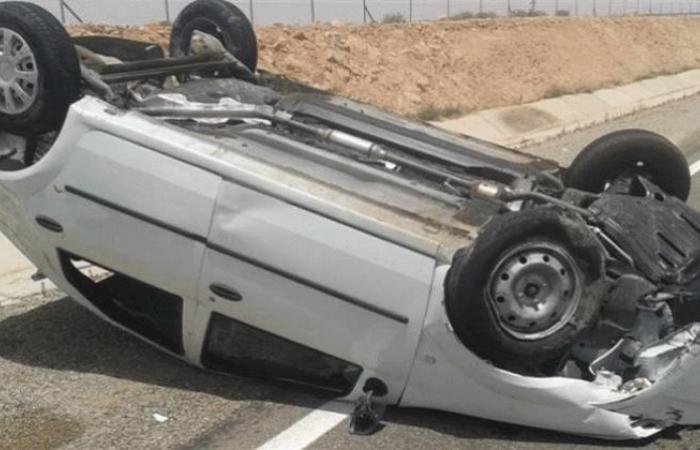الوفد -الحوادث - مصرع مواطن وإصابة 16 آخرين إثر انقلاب سيارة بأسيوط موجز نيوز