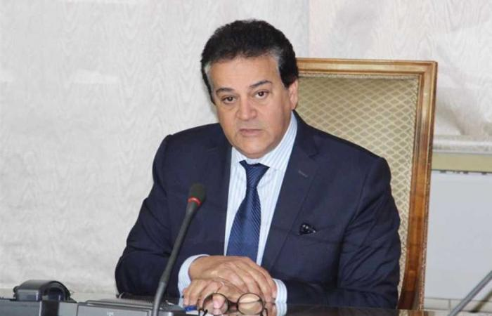 المصري اليوم - اخبار مصر- وزير التعليم العالي يتلقى تقريرًا حول نتائج اجتماع مبادرة الحزام والطريق للحد من المخاطر موجز نيوز