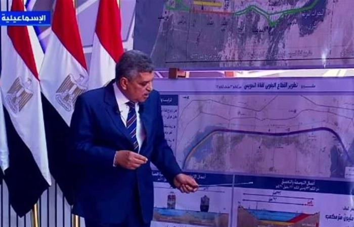 المصري اليوم - اخبار مصر- الفريق أسامة ربيع: قناة السويس سجلت أرقام قياسية جديدة في عبور السفن بفضل إمكاناتها التنافسية موجز نيوز