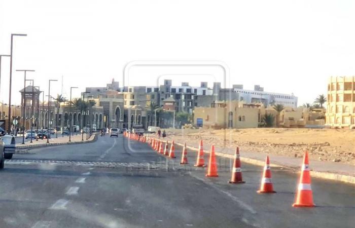 المصري اليوم - اخبار مصر- لليوم الثاني استمرار إغلاق الشواطئ العامة ومنع الانتظار بالكورنيش بالغردقة موجز نيوز