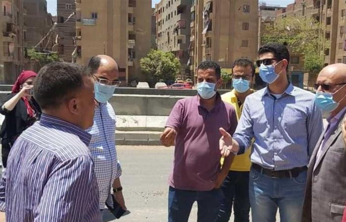 المصري اليوم - اخبار مصر- نائب محافظ القليوبية يتابع أعمال تطوير منطقة كوبري الشرقاوية (صور) موجز نيوز