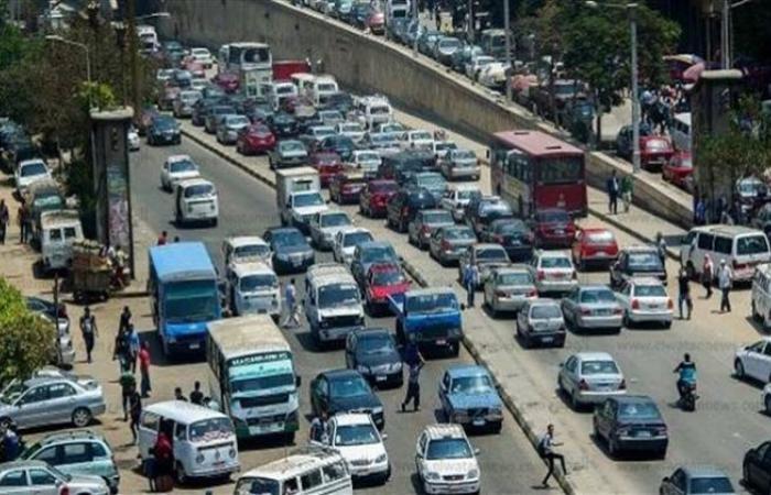 الوفد -الحوادث - الحالة المرورية للشوارع الرئيسية بالكورنيش ووسط البلد موجز نيوز