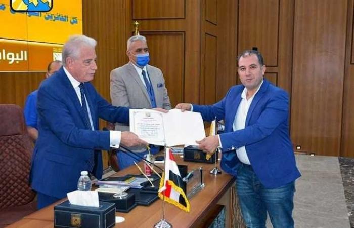 المصري اليوم - اخبار مصر- محافظ جنوب سيناء يكرم الفائزين بمسابقة «أهلا رمضان» (صور) موجز نيوز