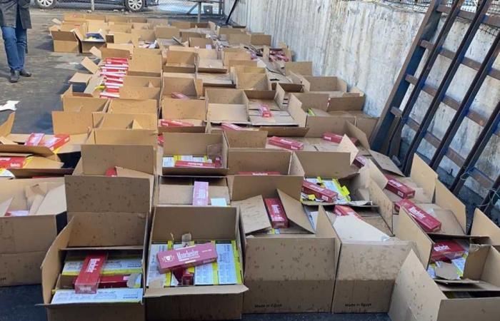 #المصري اليوم -#حوادث - ضبط 3 آلاف علبة سجائر مجهولة المصدر في كفر الشيخ موجز نيوز