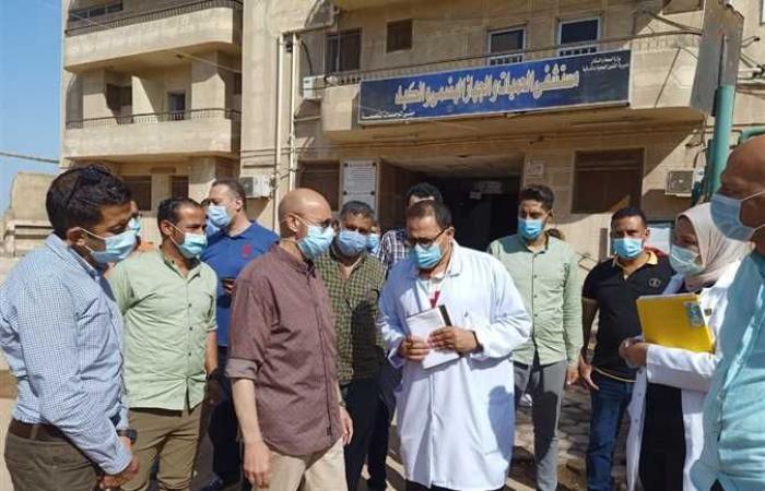 المصري اليوم - اخبار مصر- وكيل صحة الشرقية يتفقد أعمال تطوير مستشفيات الصدر والحميات بالزقازيق موجز نيوز