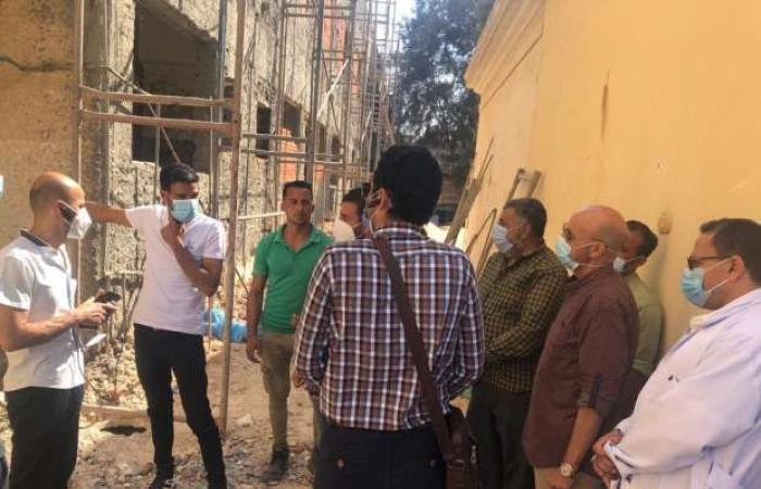 اخبار السياسه وكيل صحة الشرقية يتفقد أعمال تطوير مستشفيات الصدر والحميات بالزقازيق