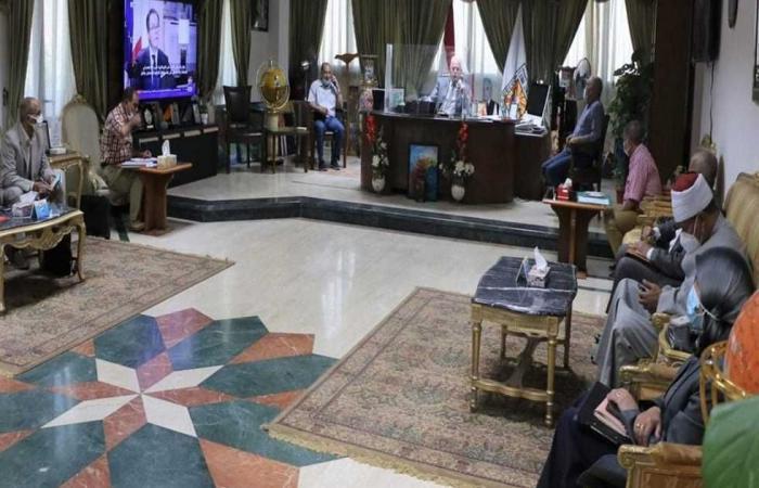 المصري اليوم - اخبار مصر- محافظة جنوب سيناء يلتقي المجموعة الاقتصادية موجز نيوز