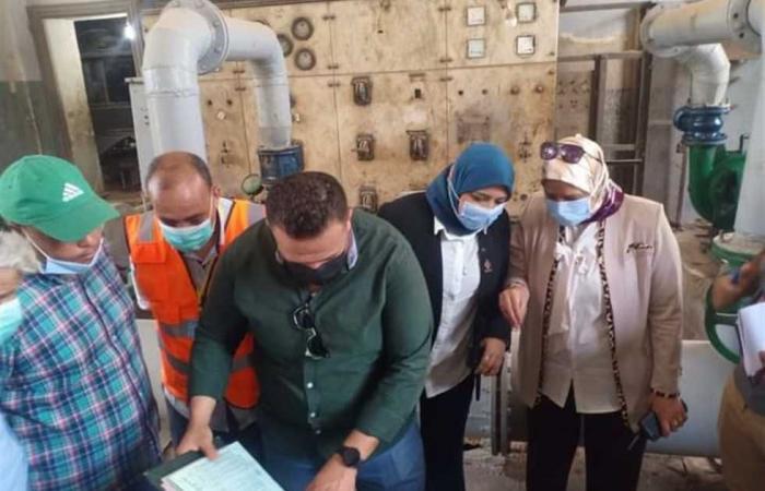 المصري اليوم - اخبار مصر- لجنة من «القابضة» تتفقد محطات مياه دسوق وتستمع لشكاوى المواطنين موجز نيوز