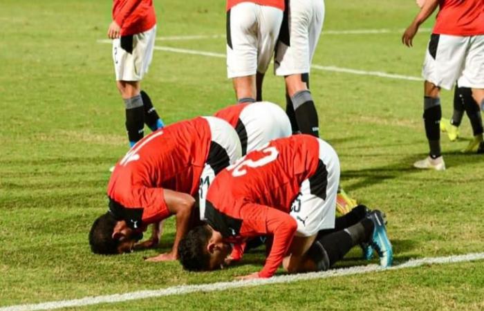 مباراة ودية.. مصر (الأولمبي) 1-0 جنوب إفريقيا (الأولمبي).. القائم يعاند فتوح