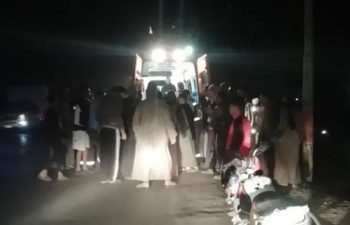 الوفد -الحوادث - إصابة 4 أشخاص في حادث تصادم بأبوتشت بقنا موجز نيوز