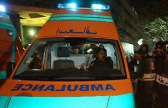 #اليوم السابع - #حوادث - إصابة 4 أشخاص فى حادث تصادم ميكروباص مع تروسيكل بقنا